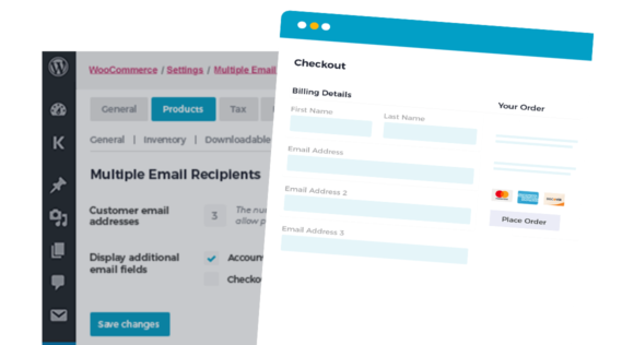 WooCommerce Multiple Email Recipients CTA