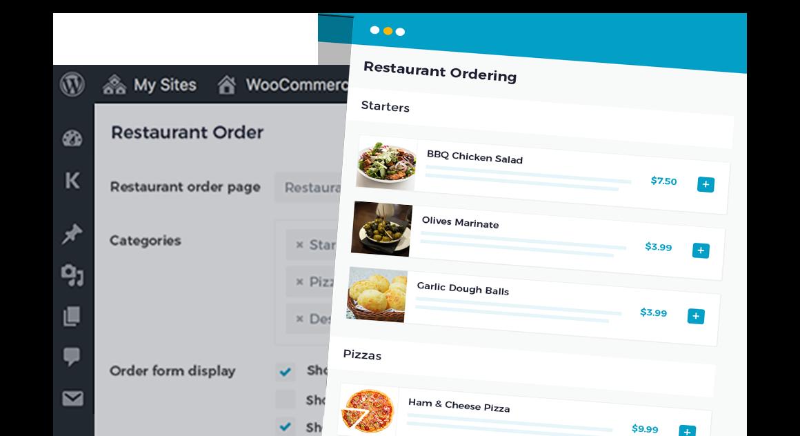 WooCommerce Restaurant Ordering CTA