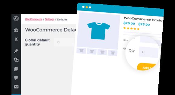WooCommerce Default Quantity CTA