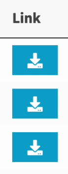 Link style button with download icon