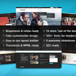 The best responsive retina WordPress themes for websites
