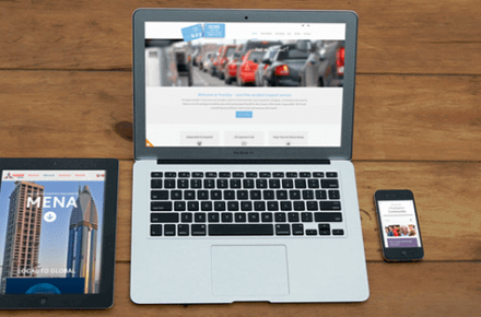 Responsive WordPress website images