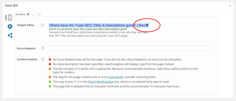 How to edit the Yoast SEO Title and Description