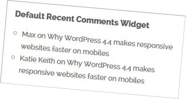 Default-WordPress-Recent-Comments-Widget
