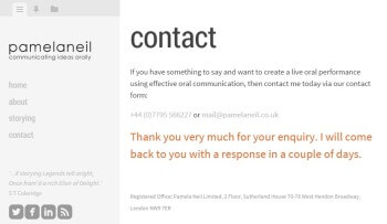 Customised Jetpack contact form success message