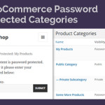 WooCommerce password protect categories