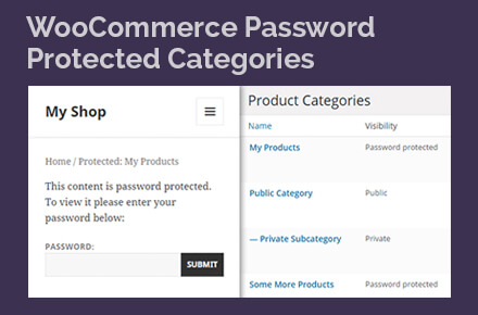 WooCommerce Private Products plugin