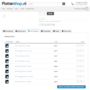 Plotter Shop list variations as products on the single product page