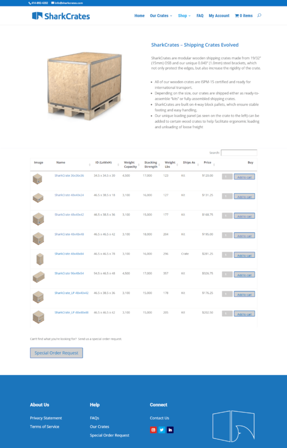 Sell multiple product variations WooCommerce