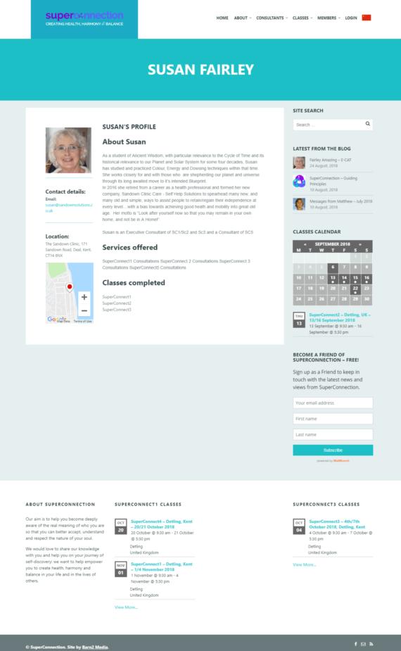 WordPress consultants directory website