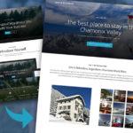 Cheap website design example
