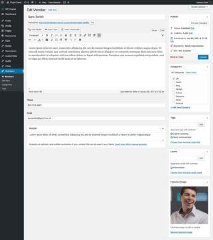 Add Member to Directory WordPress Plugin