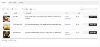 WooCommerce restaurant order form plugin
