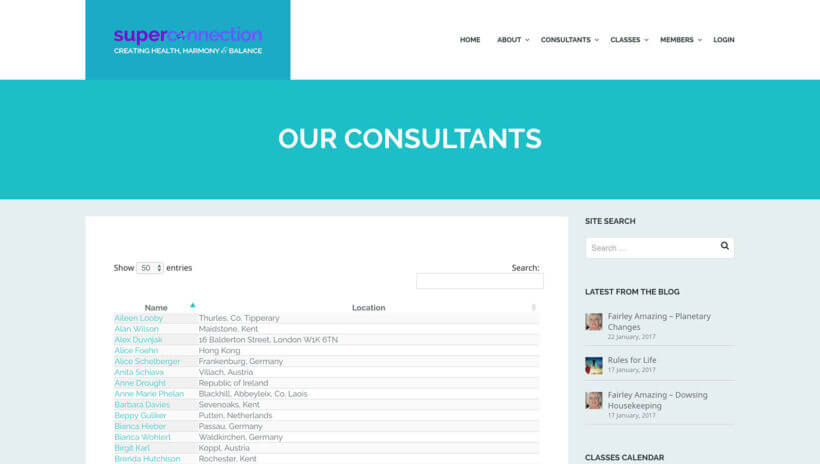 WordPress consultants directory of members plugin