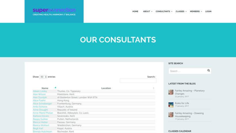 WordPress consultants directory of members plugin