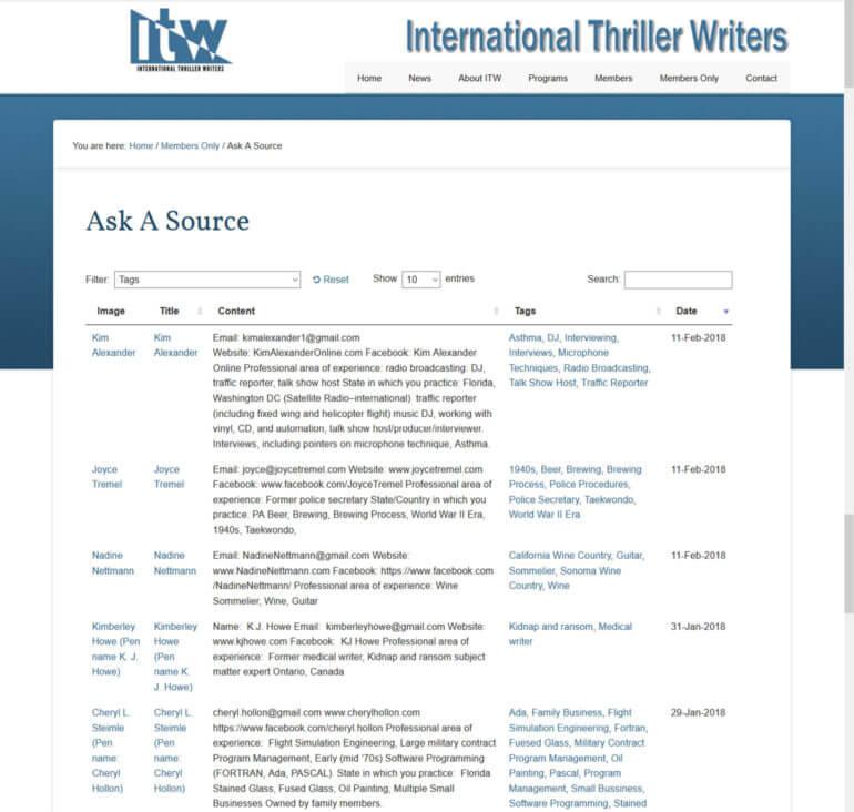 WordPress member directory plugin examples