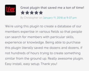 WordPress member directory plugin reviews