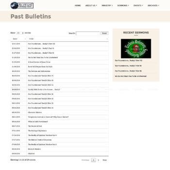 WordPress newsletter archive plugin