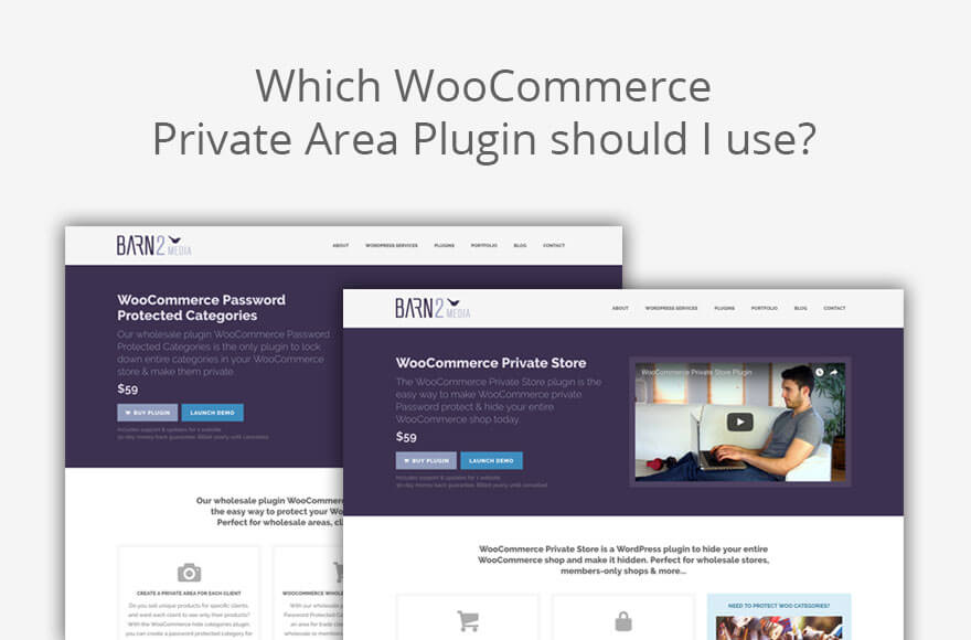 WooCommerce Client Area - Which WordPress Plugin to Use