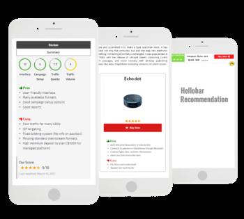 WordPress affiliate review plugin