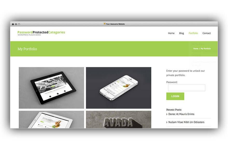 Create a Password Protected Portfolio in WordPress: 3 Easy Ways