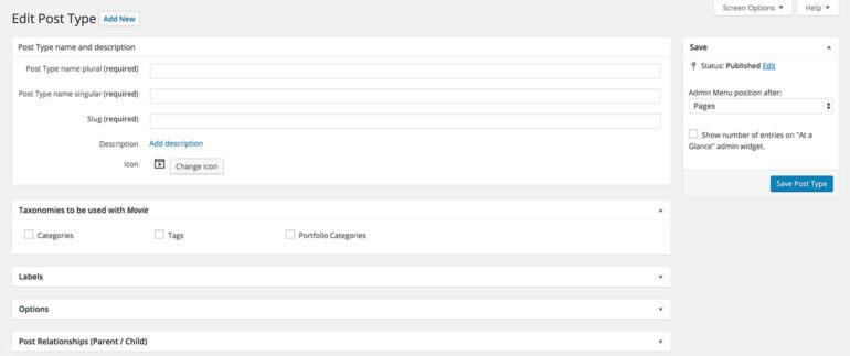 Add WordPress knowledge base custom post type