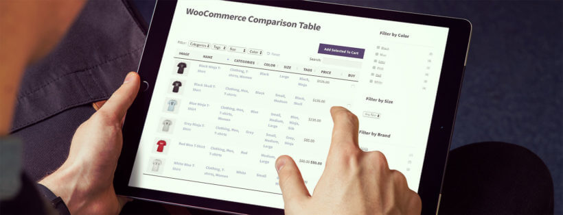 WooCommerce Comparison Table Plugin