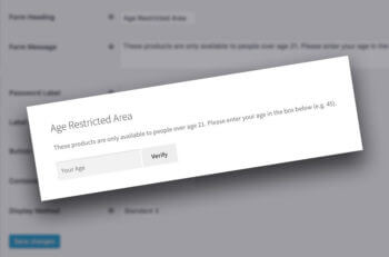 WooCommerce age verification plugin