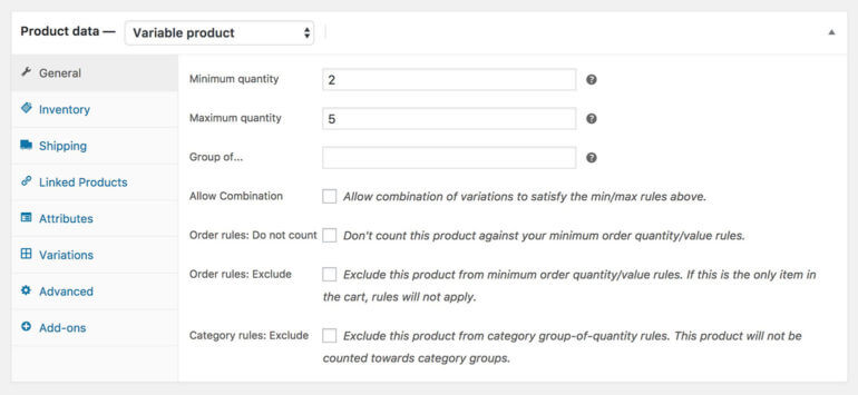 WooCommerce minimum maximum order value plugin