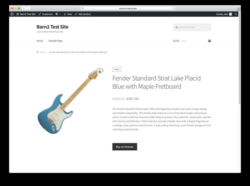 WooCommerce Amazon Affiliate Product