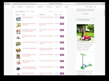 WooCommerce Amazon affiliates product table