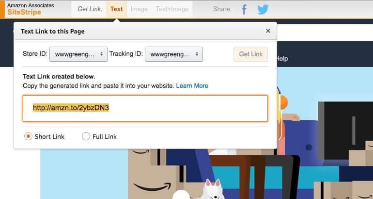 Register WooCommerce Amazon affiliates