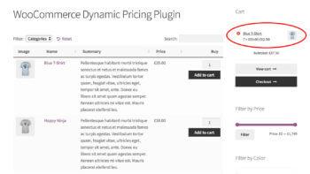 WordPress bulk discounts plugin