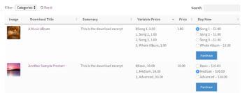 Display Easy Digital Downloads Variable Prices