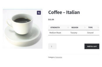 WooCommerce custom fields product page plugin