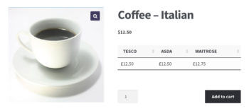 WooCommerce product page custom fields
