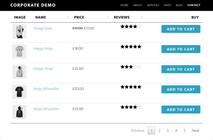 WooCommerce order form plugin example