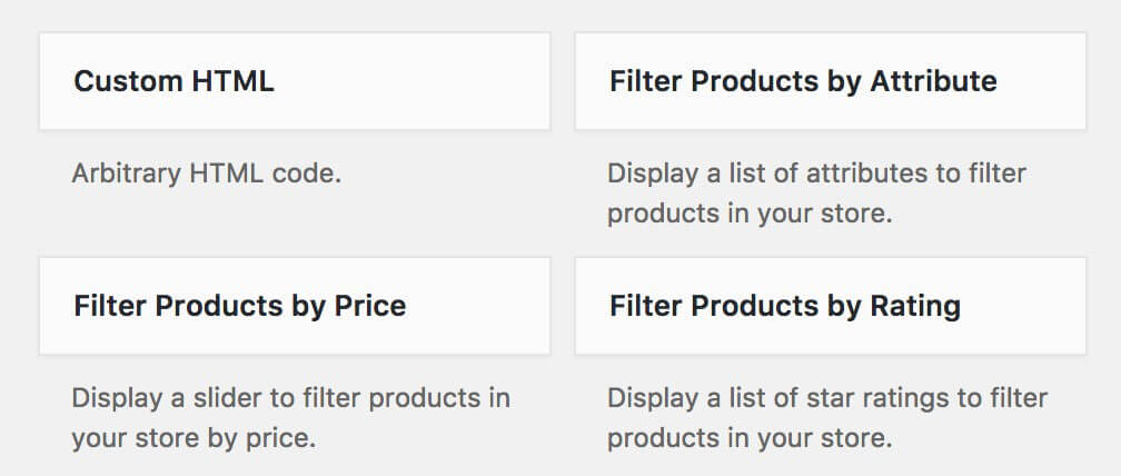 How to Add Product Tables to WoocCommerce Shop Page Template