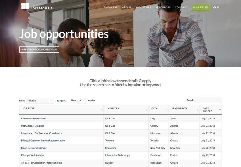 WordPress job board plugin case study