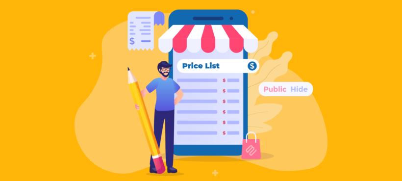 WooCommerce price list plugin