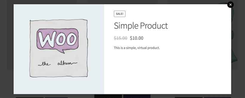 WooCommerce Quick View Pro Without Add to Cart Button