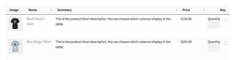 WooCommerce order form quantity field plugin