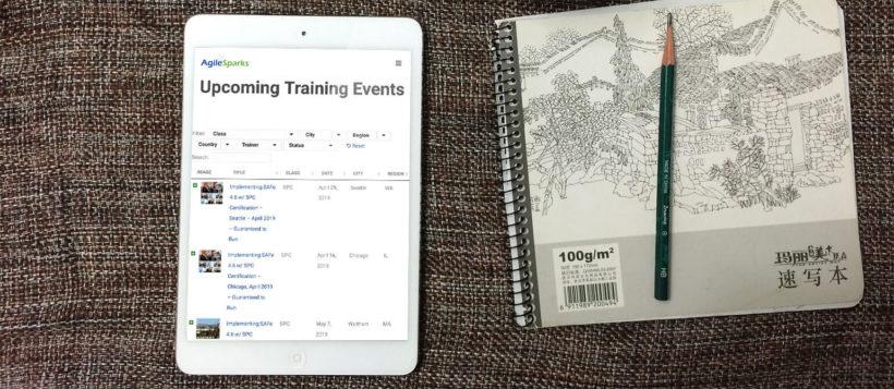 WordPress events list case study