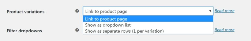 Customizing your quick order form to include product variations.
