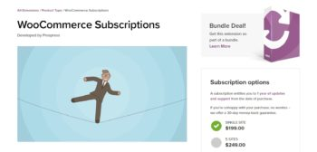 The WooCommerce Subscriptions extension.