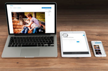 WooCommerce photography website with client login