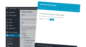 WooCommerce PRotected Categoires cta
