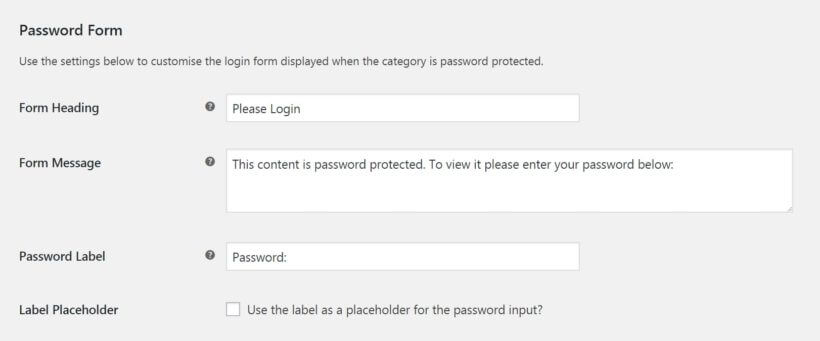 WooCommerce trade login plugin password form