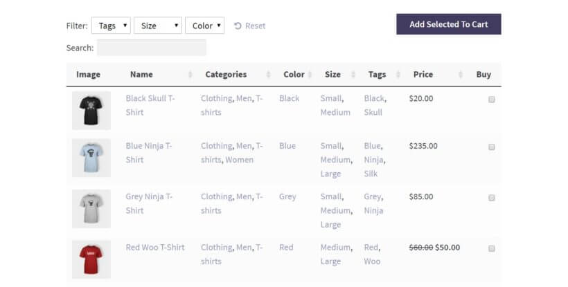 WooCommerce trade order form plugin