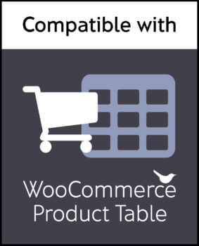 WooCommerce Product Table Plugin Compatibility Logo